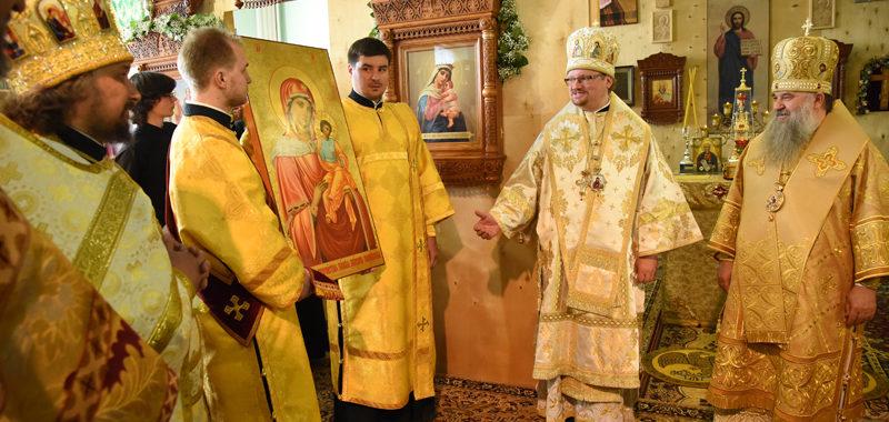 Икона Коневской Божией Матери возвращена монастырю