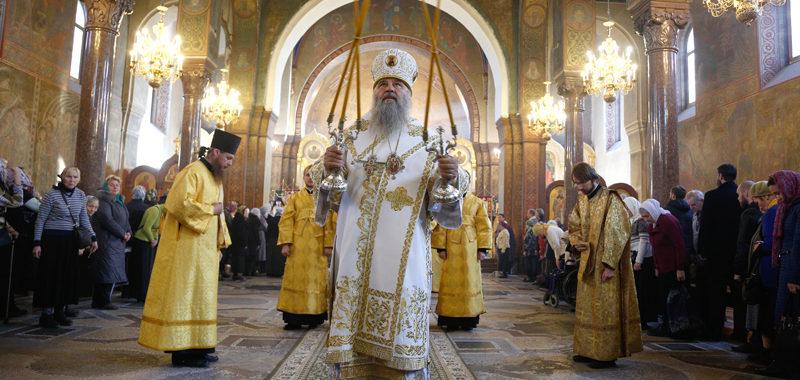Митрополит Варсонофий совершил две хиротонии в Троице-Сергиевой пустыни