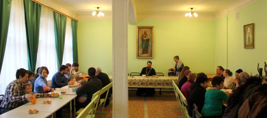 Очередное заседание воскресенской общины