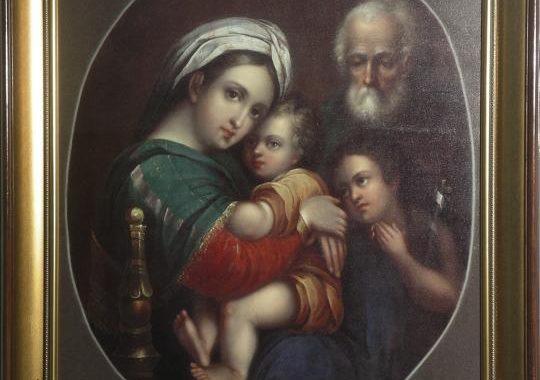 Молебен перед образом Богородицы «Три Радости»