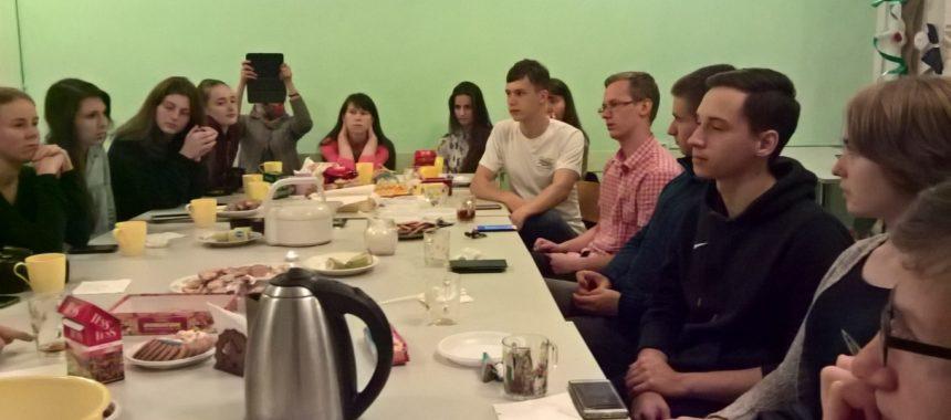 Встреча нашего молодежного клуба ACTS с молодежной группой Преображенского братства г. Москвы
