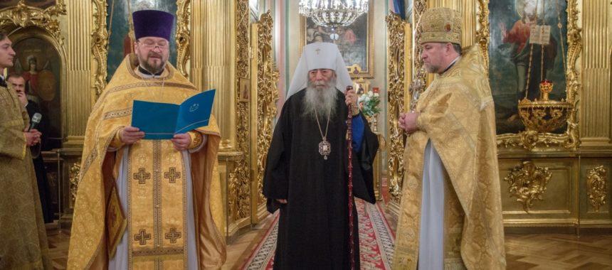 День тезоименитства Высокопреосвященнейшего митрополита Владимира (Котлярова)