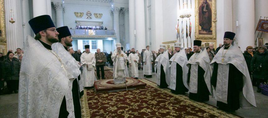 Медаль в память восстановления патриаршества вручена протоиерею Михаилу Погиблову