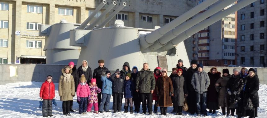 Поездка Воскресной школы «Слава Российского флота»