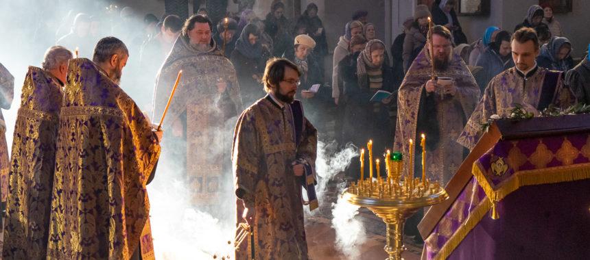 Четверток Великого канона. Похвала Пресвятой Богородицы