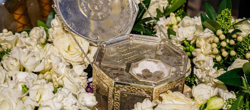 Частица мощей Иоанна Предтечи пребывает в Санкт-Петербурге