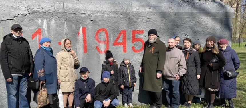«Военный» поход в День Победы