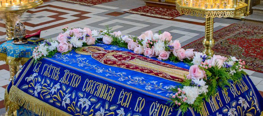 Праздник Успения и чин погребения Богоматери