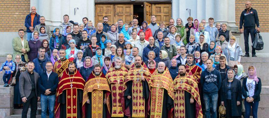 Соборный молебен обществ трезвости