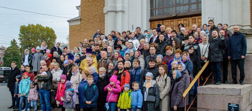 Общее фото приходской общины